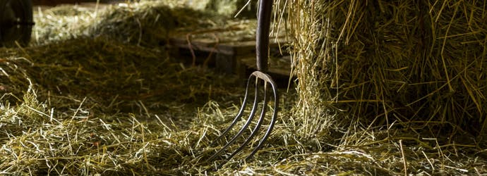Hay Storage for Safety and to Prevent Losses