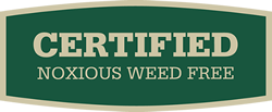 Certified Noxious Weed Free