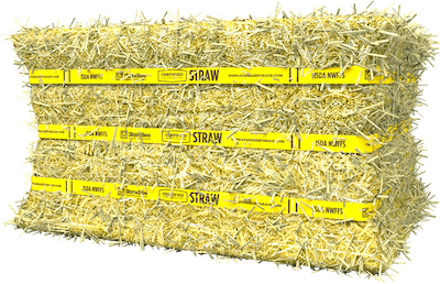 Certified Straw Compressed Bale Product Photo