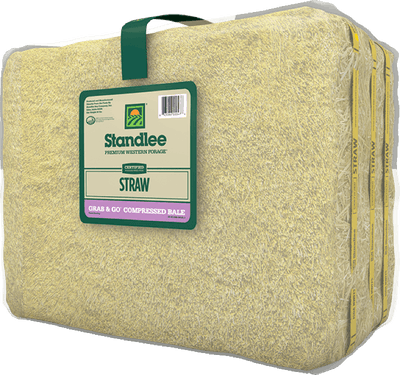 Certified Straw Grab & Go Compressed Bale Product Photo