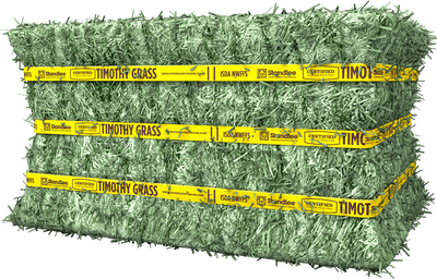 Certified Timothy Grass Compressed Bale Product Photo