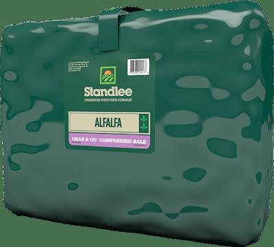 Premium Alfalfa Grab & Go Compressed Bale Product Photo