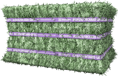Premium Alfalfa/Orchard Compressed Bale Product Photo