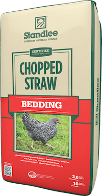 Certified Chopped Straw Product Photo