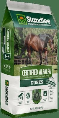 Certified Alfalfa Cubes Product Photo