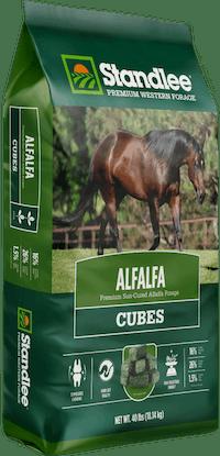 Premium Alfalfa Cubes Product Photo