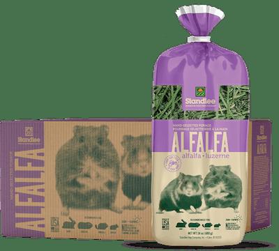 Hand-Selected Alfalfa Product Photo