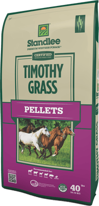 Certified Timothy Grass Pellets Product Photo