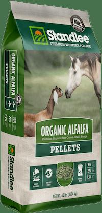 Premium Organic Alfalfa Pellets Product Photo