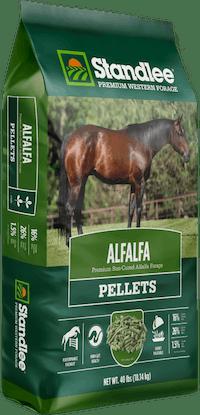 Premium Alfalfa Pellets Product Photo
