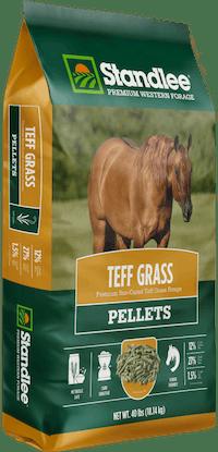 Premium Teff Grass Pellets Product Photo