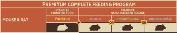 Mouse and Rat Feeding Program Chart
