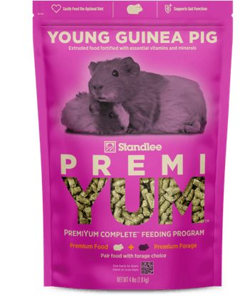 PremiYum Young Guinea Pig Fortified Food Product Photo