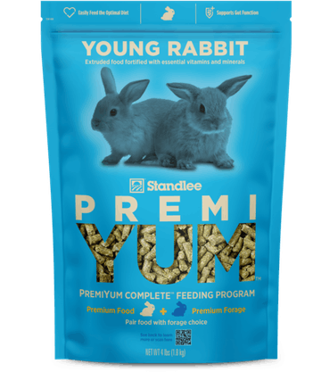 PremiYum Young Rabbit Fortified Food Product Photo