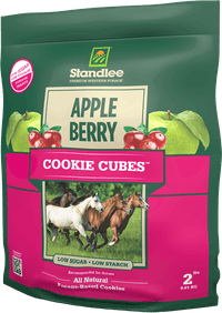 Apple/Berry Cookie Cubes Product Photo